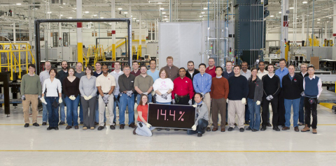 First Solar - World Record - 14,4 Percent